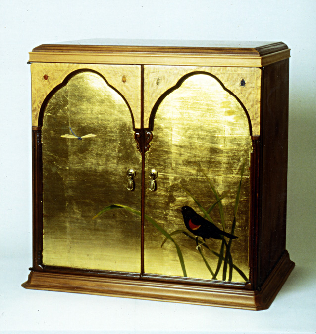 Red-winged Blackbird Cabinet