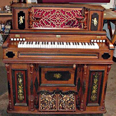 Reed Organ Cherub Restoration